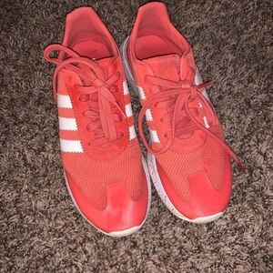 Adidas Flashback Coral Pink Shoes Size 7.5